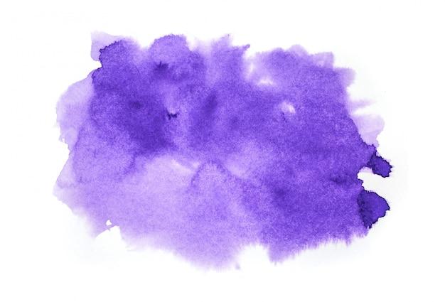 Fundo aquarela arte pintura à mão