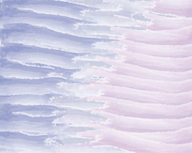 Fundo aquarela de linhas azuis e rosa