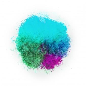 Fundo aquarela em cores brilhantes