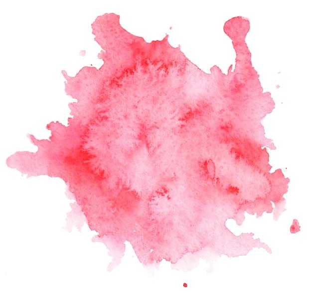 Fundo aquarela mancha rosa