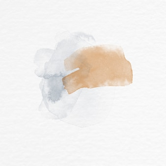 Fundo aquarela pintado à mão
