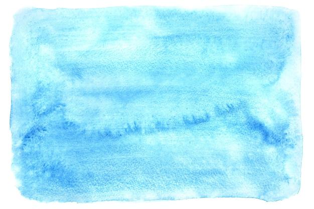 Fundo aquarela raster azul claro