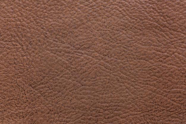 Fundo áspero de couro marrom texturizado