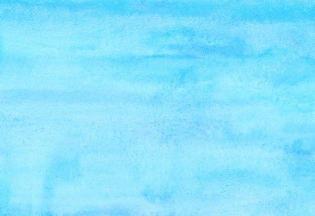 Fundo azul ciano claro aquarela