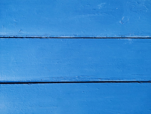 Fundo azul de madeira