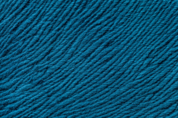 Fundo azul de têxteis fleecy Foto Premium