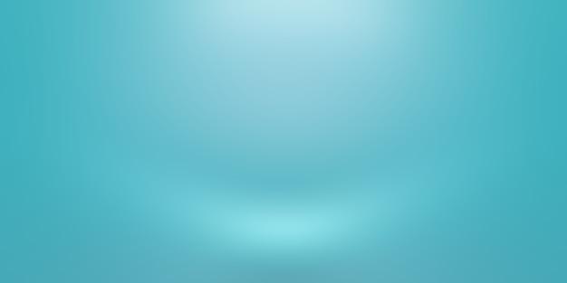Fundo azul do gradiente de luxo abstrato. liso azul escuro com vinheta preta studio banner.