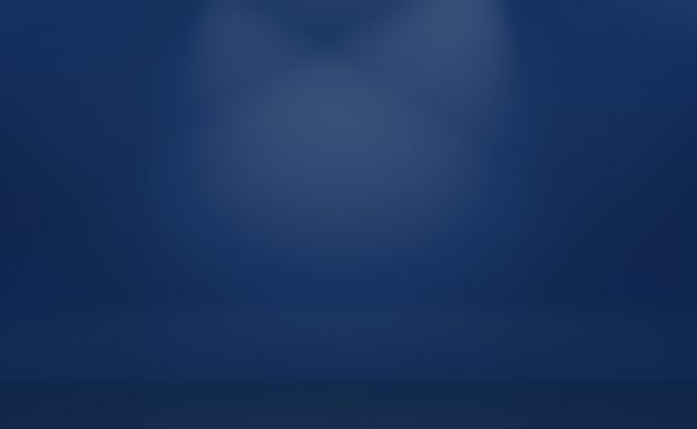 Fundo azul do gradiente de luxo abstrato.