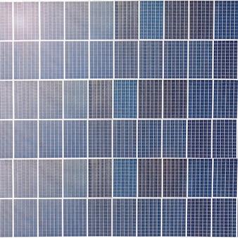 Fundo azul do teste padrão dos painéis solares.