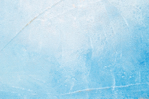 Fundo azul muro de concreto