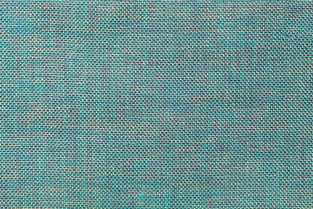 Fundo azul têxtil com padrão de xadrez, closeup