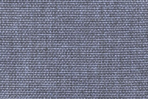 Fundo azul têxtil com xadrez do tecido