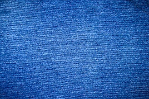 Fundo azul textura de brim