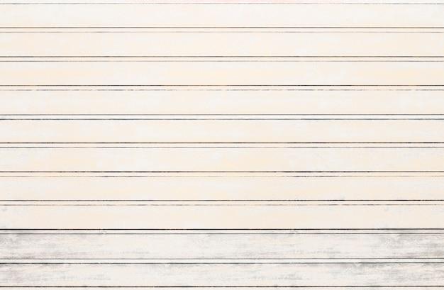 Fundo branco da textura das placas de madeira. efeito vintage