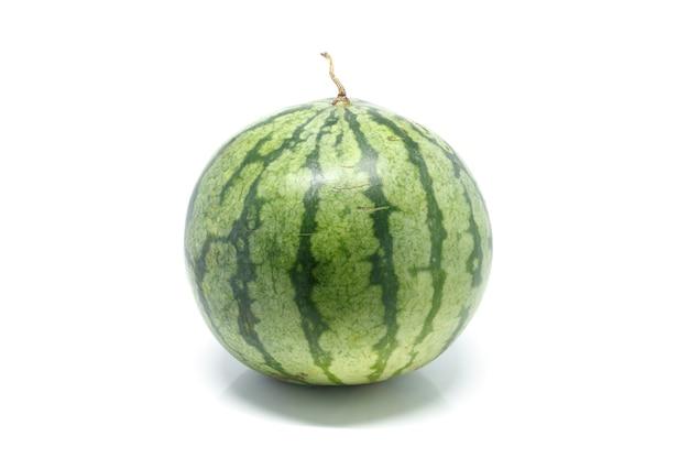 Fundo branco melancia