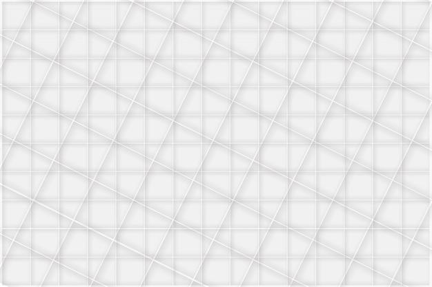 Fundo branco mosaico