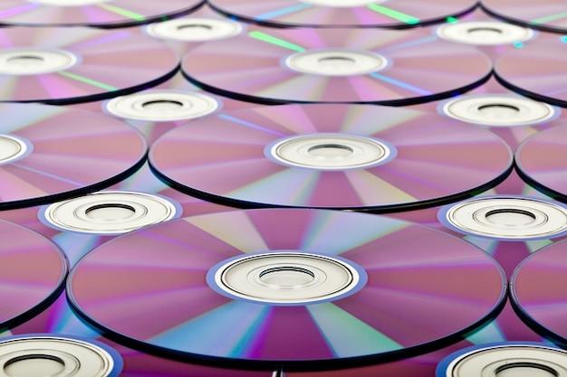 Fundo branco queimar disco blu ray círculo compacto