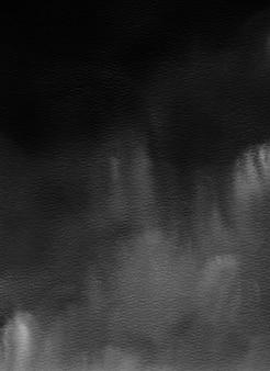 Fundo cinza aquarela grunge abstrato, monocromático, textura pintada à mão, textura de papel aquarela
