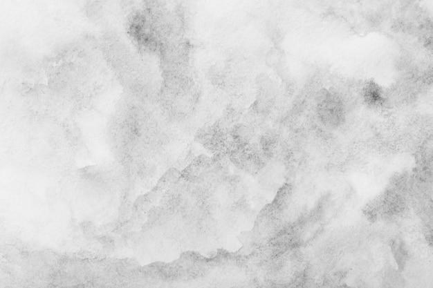 Fundo cinza aquarela. pintado à mão com pincel