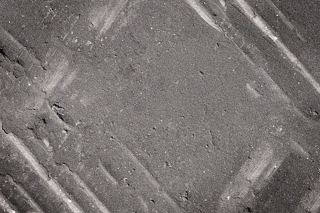 Fundo cinza escuro de concreto asfáltico