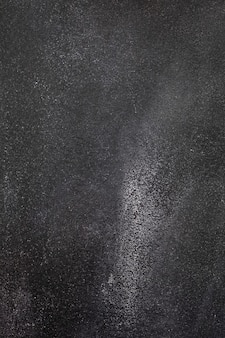 Fundo cinza escuro de concreto áspero