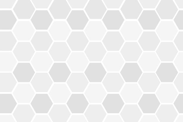 Fundo cinza estampado hexagonal