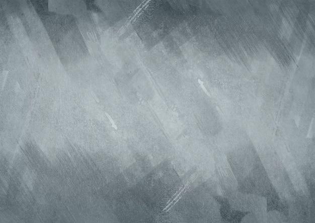 Fundo cinza pintado com textura de metal
