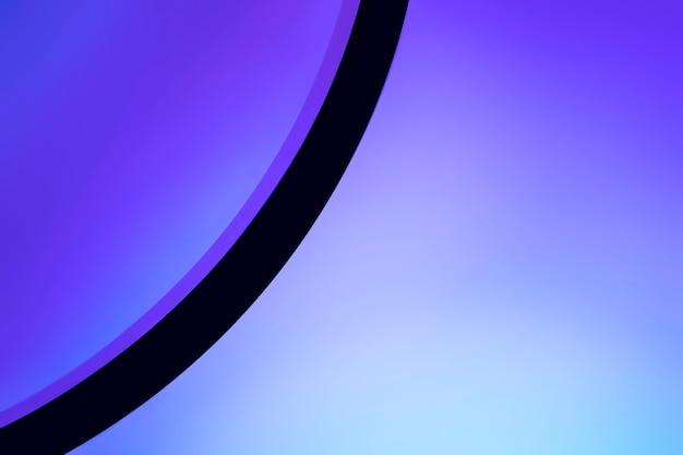 Fundo claro com lâmpada do projetor de pôr do sol