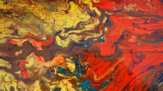 Fundo colorido abstrato da pintura.