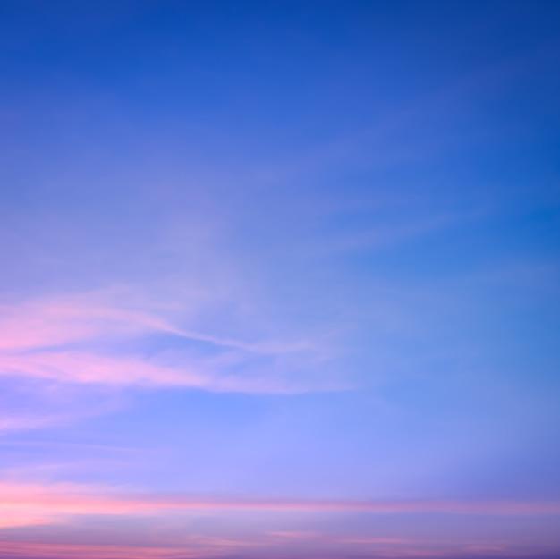 Fundo colorido abstrato do céu