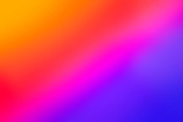 Fundo colorido brilhante de gradiente