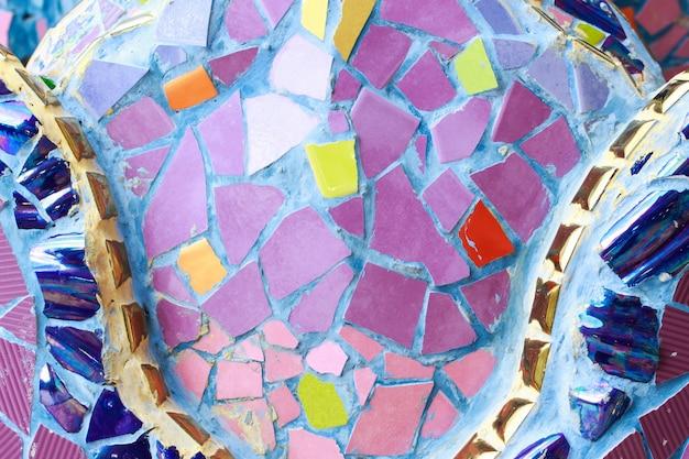 Fundo colorido da textura da parede do vidro e da telha