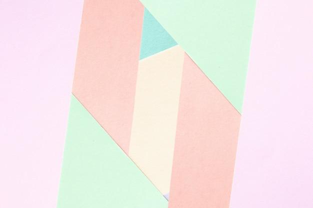Fundo colorido de papel abstrato