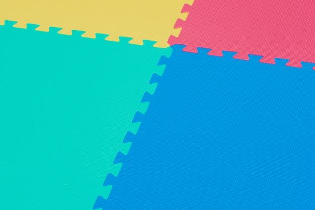 Fundo colorido de quebra-cabeças