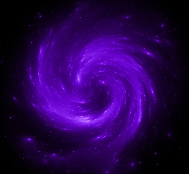 Fundo colorido do campo de estrelas