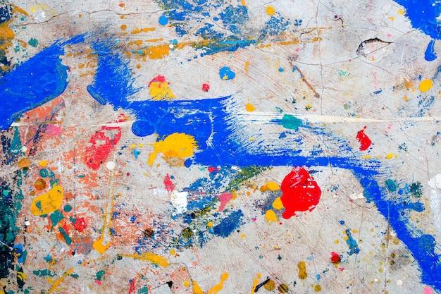 Fundo colorido do sumário da parede do cimento. piso de cimento sujo