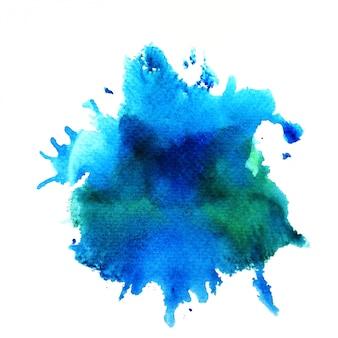 Fundo colorido em aquarela. arte pintura à mão
