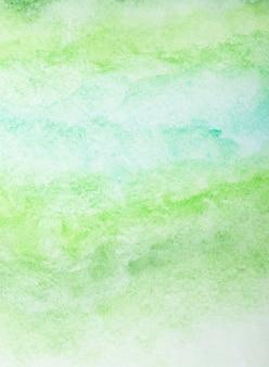 Fundo colorido em aquarela pintado à mão com pincel