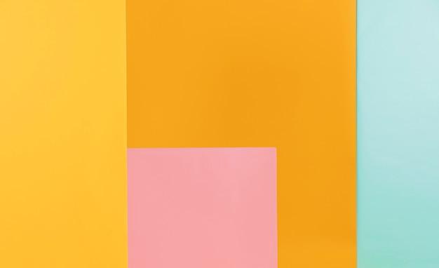 Fundo colorido formas geométricas
