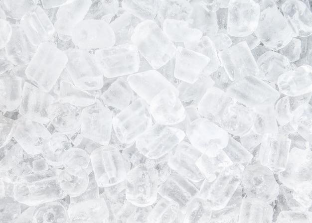 Fundo com cubos de gelo