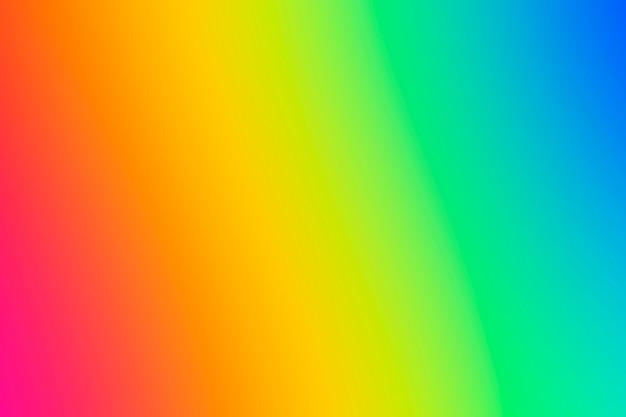 Fundo com gradiente de arco-íris