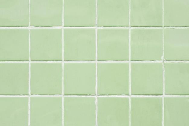 Fundo com padrão de ladrilho verde-sálvia