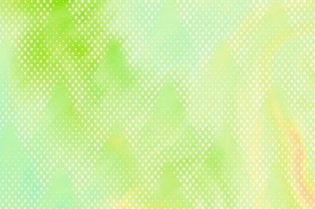 Fundo com padrão de meio-tom verde limão