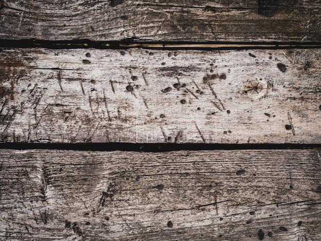 Fundo, com, resistido, antigas, áspero, envelhecido, textura, de, um, madeira, prato