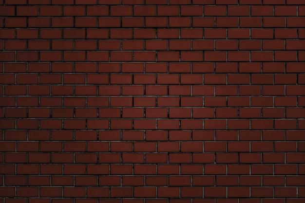 Fundo com textura de parede de tijolo vermelho acastanhado