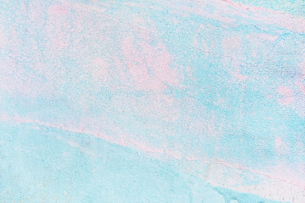 Fundo com textura de tinta azul e rosa