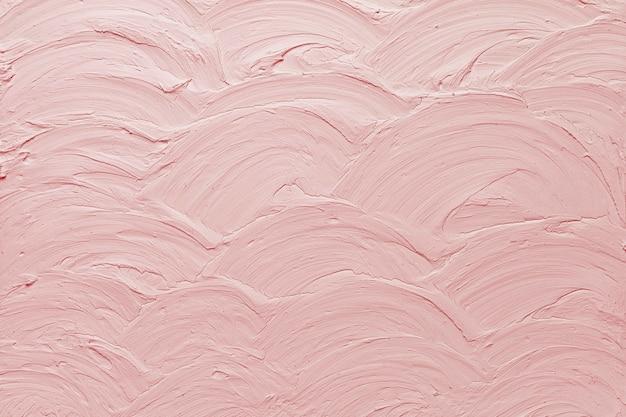 Fundo com textura de tinta de parede rosa pastel
