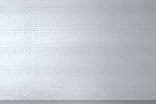Fundo, com, um, antigas, branca, parede tijolo