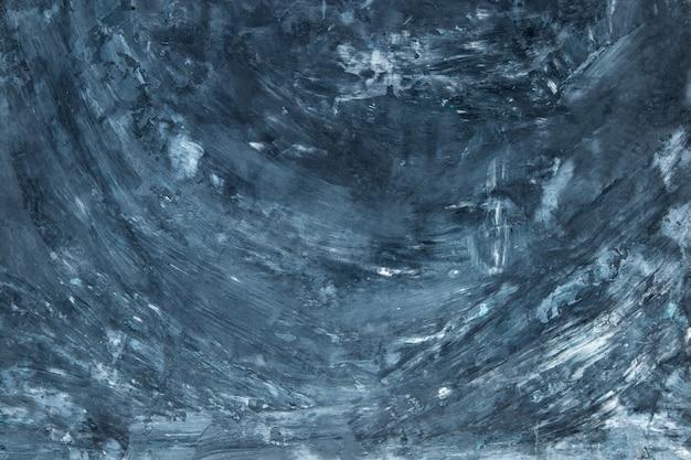 Fundo concreto azul escuro, parede com textura, preparação para o projeto. copie o espaço.