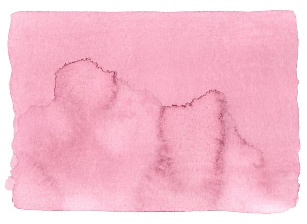 Fundo cor-de-rosa da aguarela da cor.